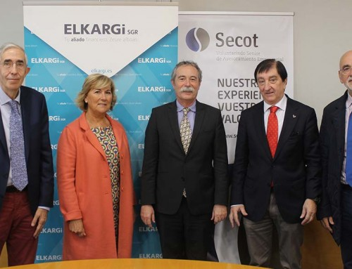 Elkargi y Secot financiarán el emprendimiento