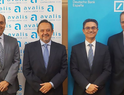 Avalis de Catalunya y Deutsche Bank firman un convenio para facilitar la financiación a pymes